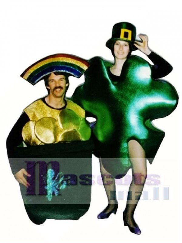 Pot-O-Gold Mascot Costume