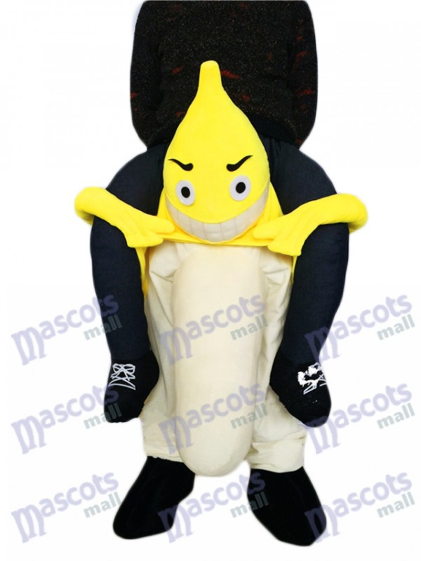 Piggyback Banana Carry Me Ride Fruit Mascot Costume
