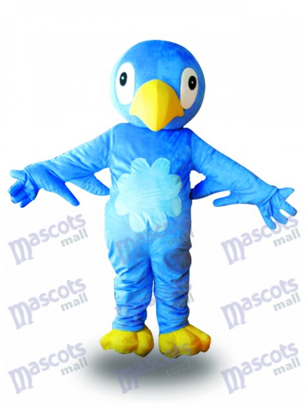 Blue Bird Mascot Costume Animal