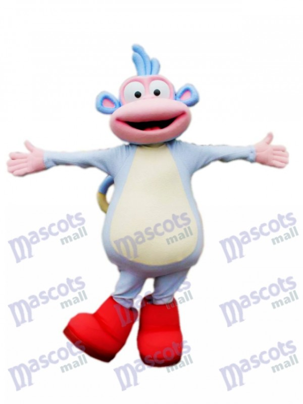 Boots Monkey Mascot Costume Animal