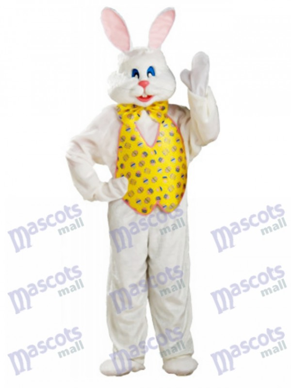 White Bunny Easter Rabbit Mascot Costume
