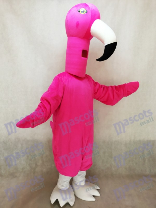 Cute Flamingo Bird Mascot Costume