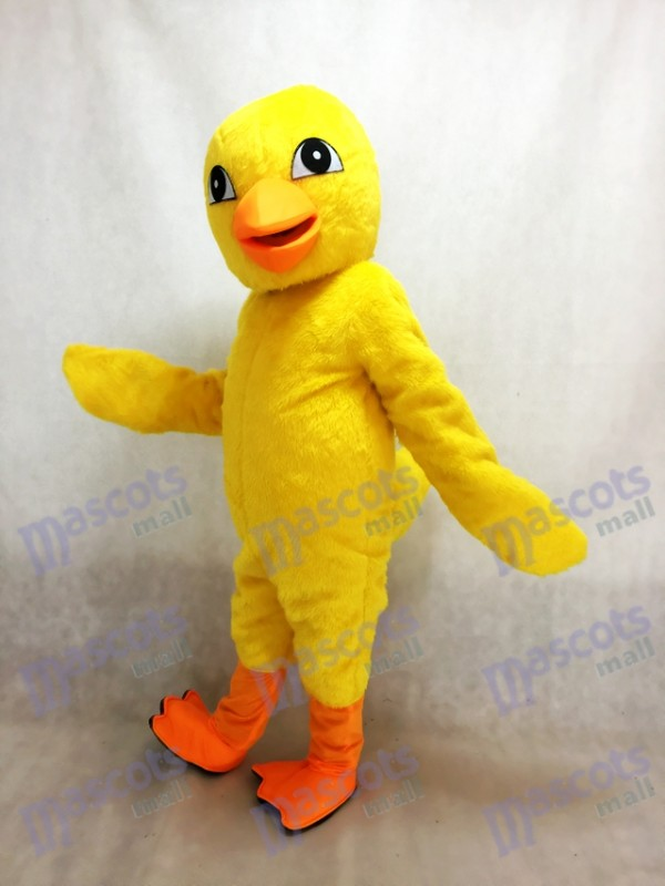 Yellow Chick Mascot Costume