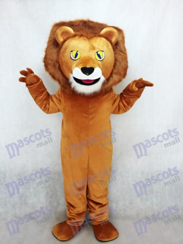 Lewis The Lion Mascot Costume Animal