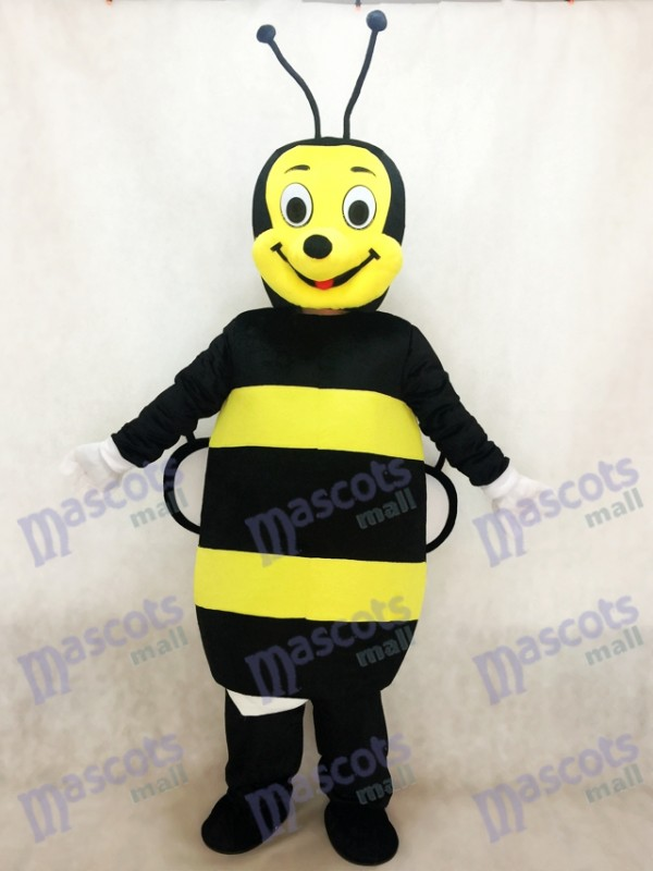 Black and Yellow Bee Mascot Costume Insect