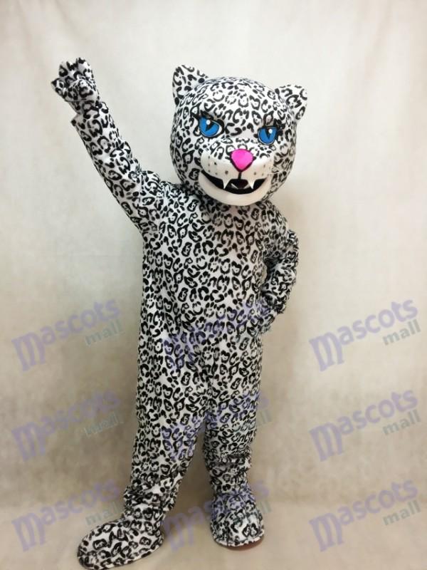 Adult Energetic Jaguar Mascot Costume