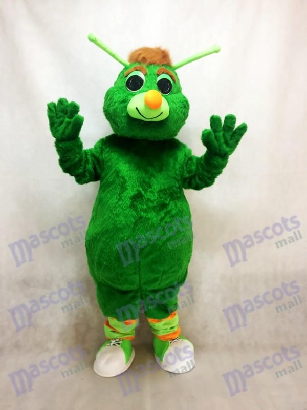 Funny Green Grasshopper Mascot Costume