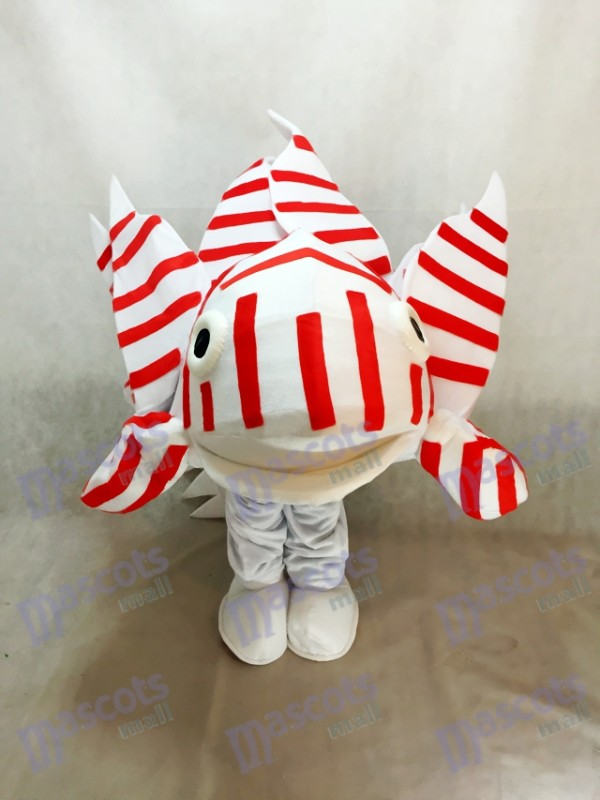 Lionfish Mascot Costume for Aquarium