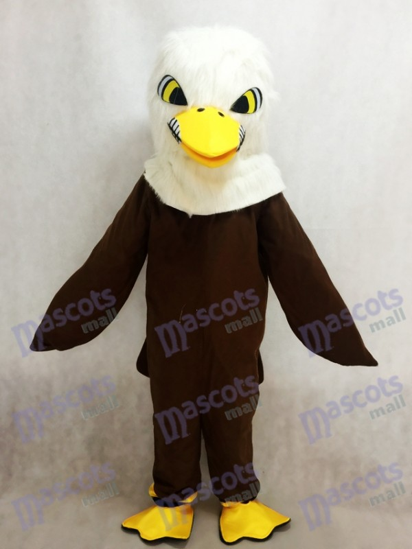 Brown Feather Eagle Mascot Adult Costume Animal
