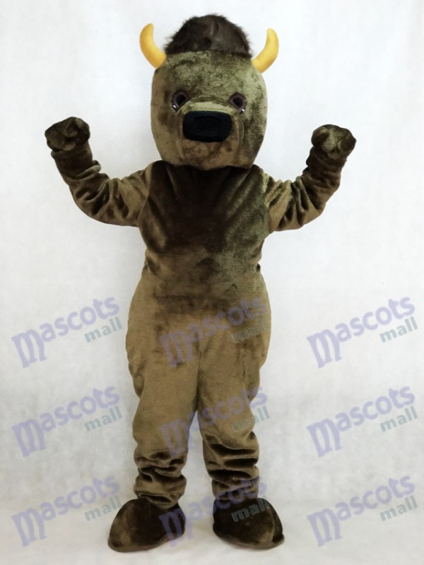 Marshall Thundering Herd Marshall University Marco the Bison Buffalo Mascot Costume