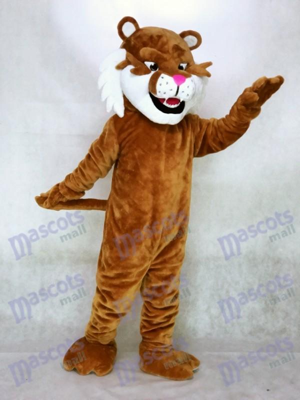 Realistic Sabretooth Tiger Mascot Costume
