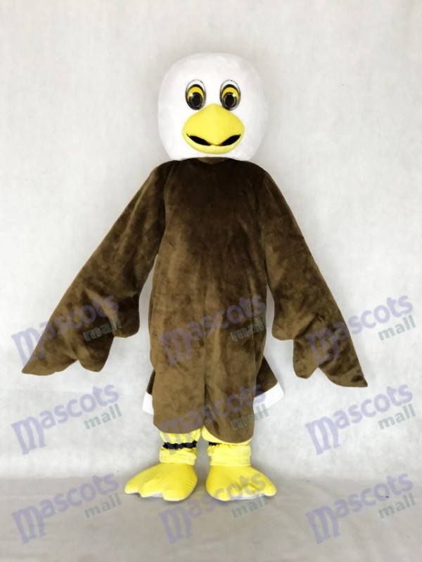 New Brown Baby Bald Eagle Mascot Costume