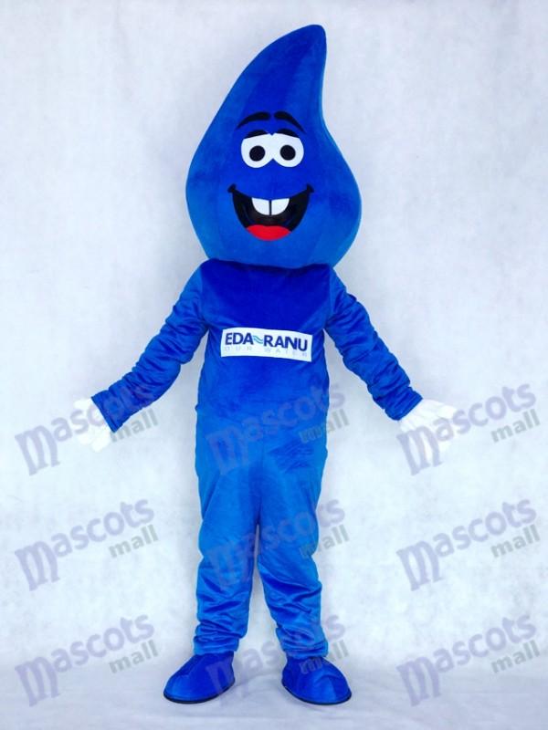 Water Drop Blue RainDrop Mascot Costume