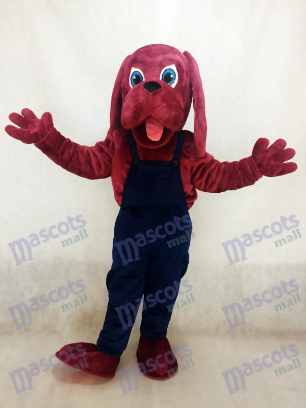 Bloodhound Dog Mascot Costume