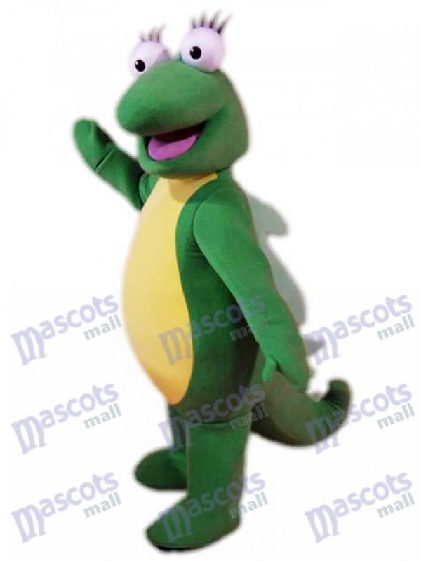 Iguana Isa Mascot Costume Dora Cartoon