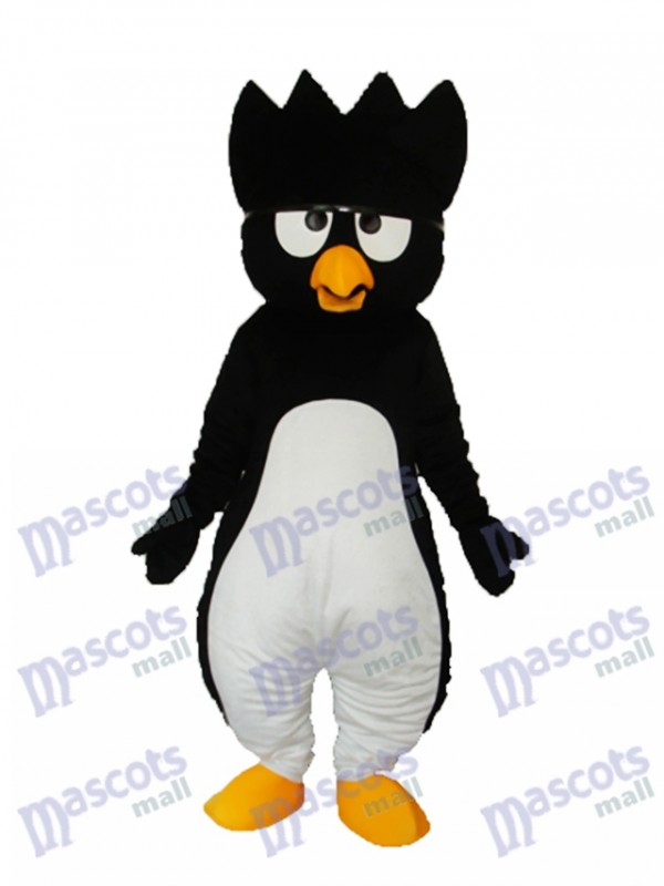 Black Little Penguin Mascot Adult Costume