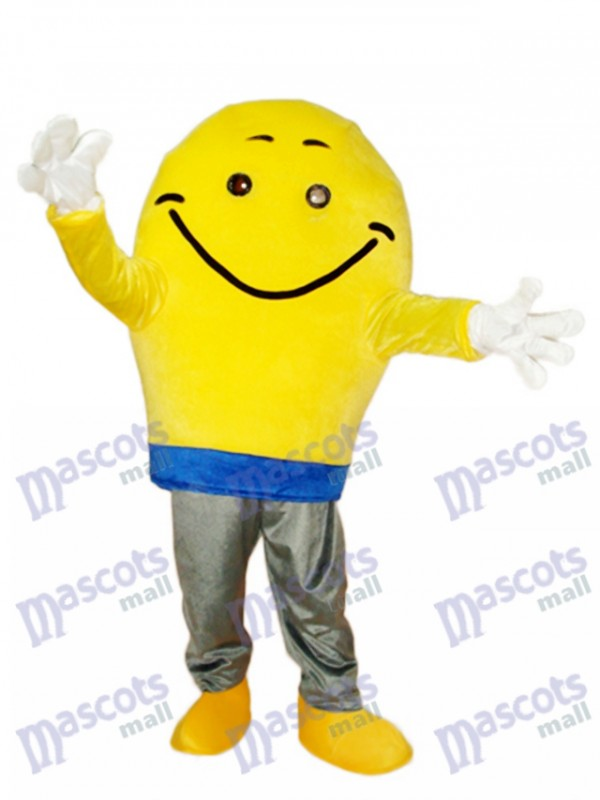Light Bulb Mascot Adult Costume