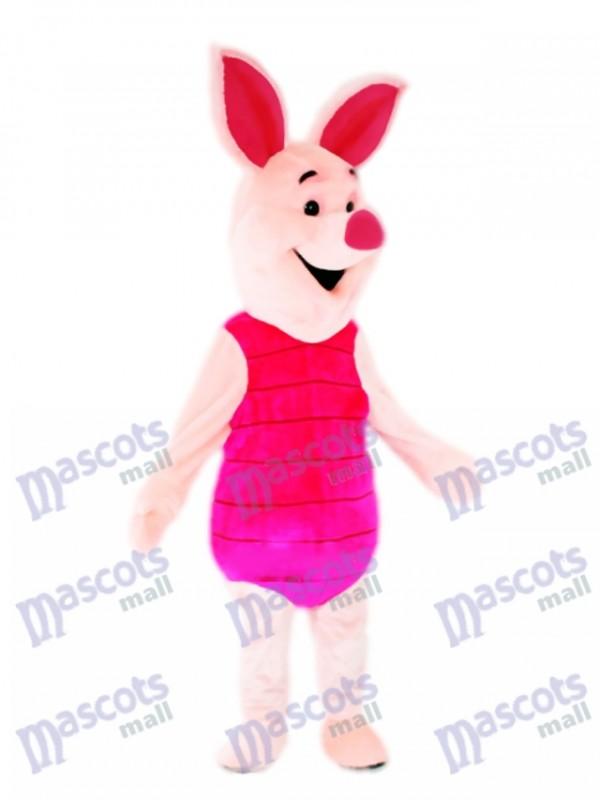 Pink Pig Piglet Mascot Costume