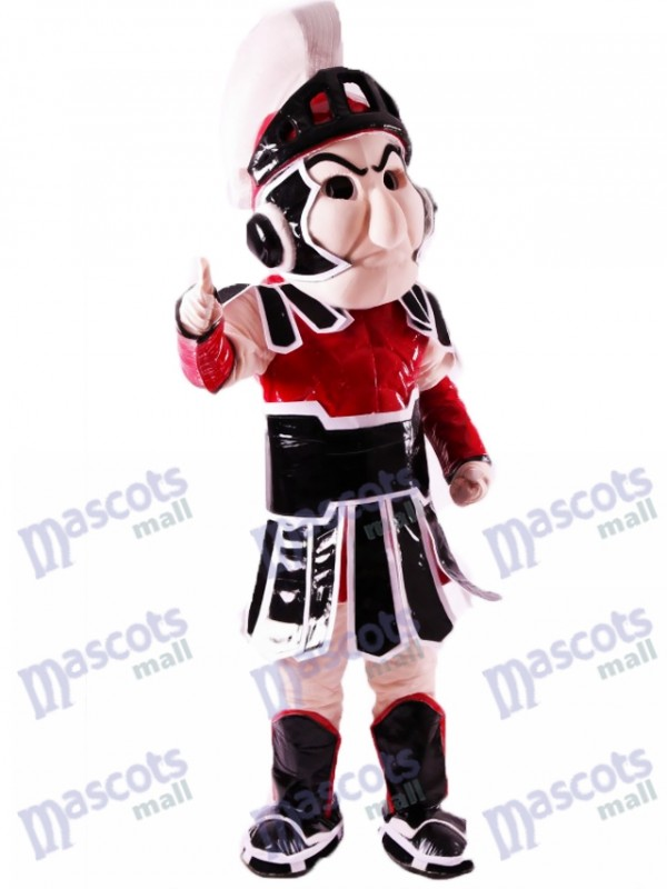 sc 1 st  mascot costume & Red Spartan Trojan Knight Sparty Mascot Costume People