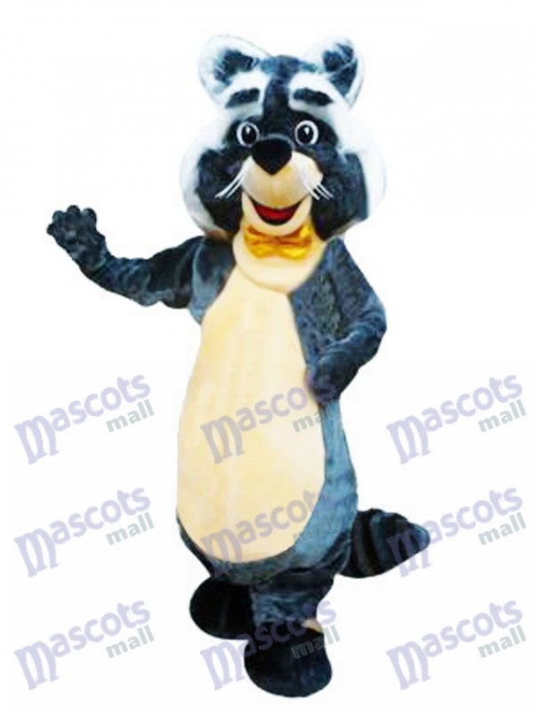 Rocky Raccoon Character Mascot Costume Cartoon