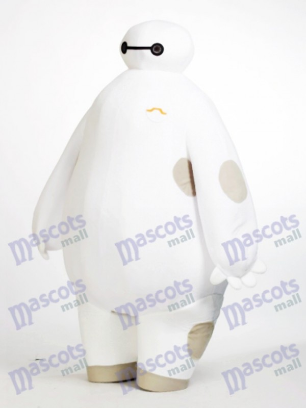 White Robot Big Hero 6 Baymax Mascot Costume Cartoon