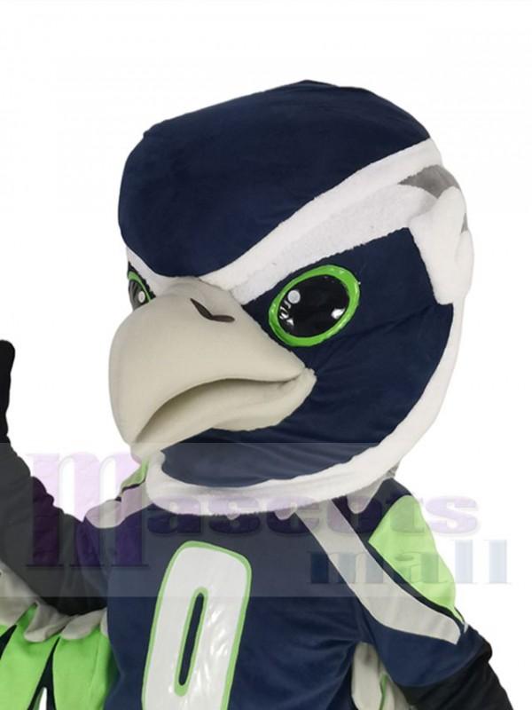 Seahawk mascot costume