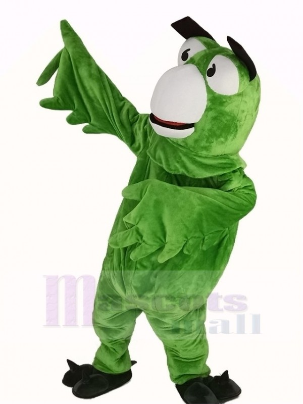 Green Parrot Bird Mascot Costume Animal