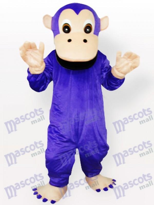 Purple Gorilla Animal Mascot Costume