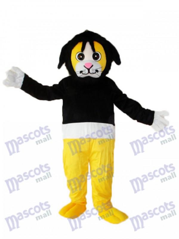 Tony Monkey in Black Sweater Adult Mascot Costume