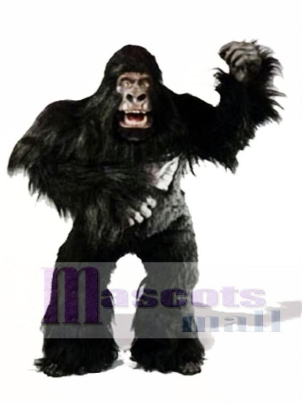 Cute Simian Gorilla Mascot Costume