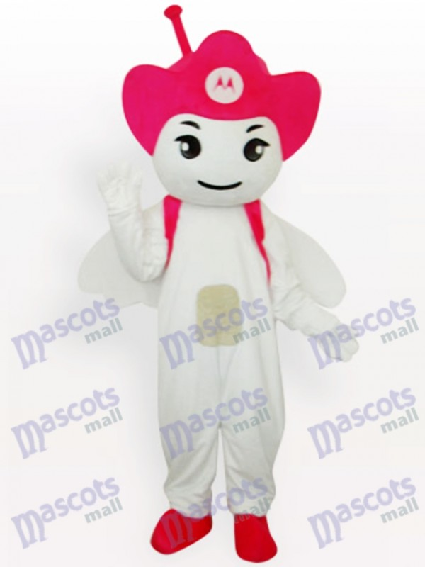Rose Moto Angel Party Adult Mascot Costume