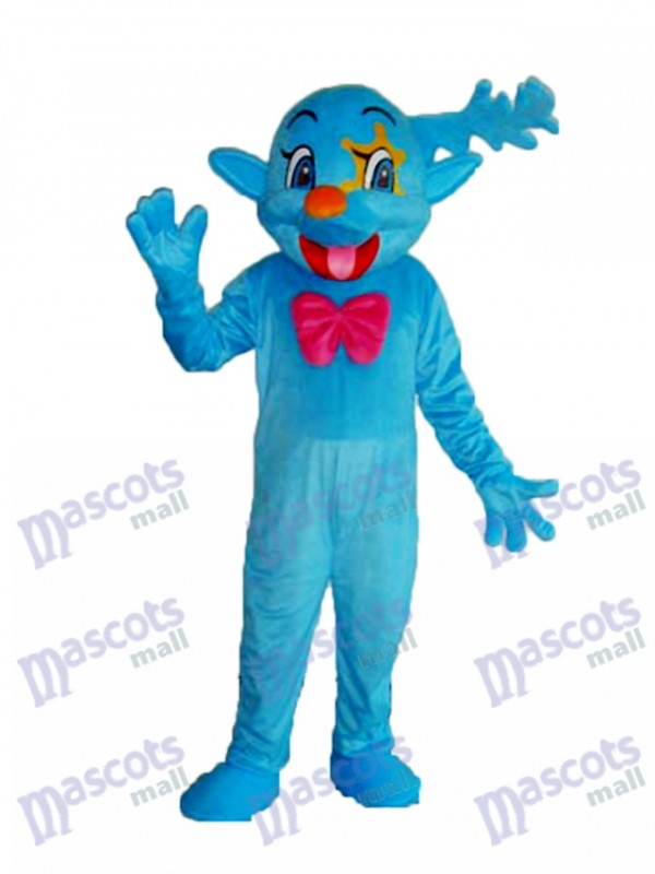 Blue Fairy Mascot Adult Costume