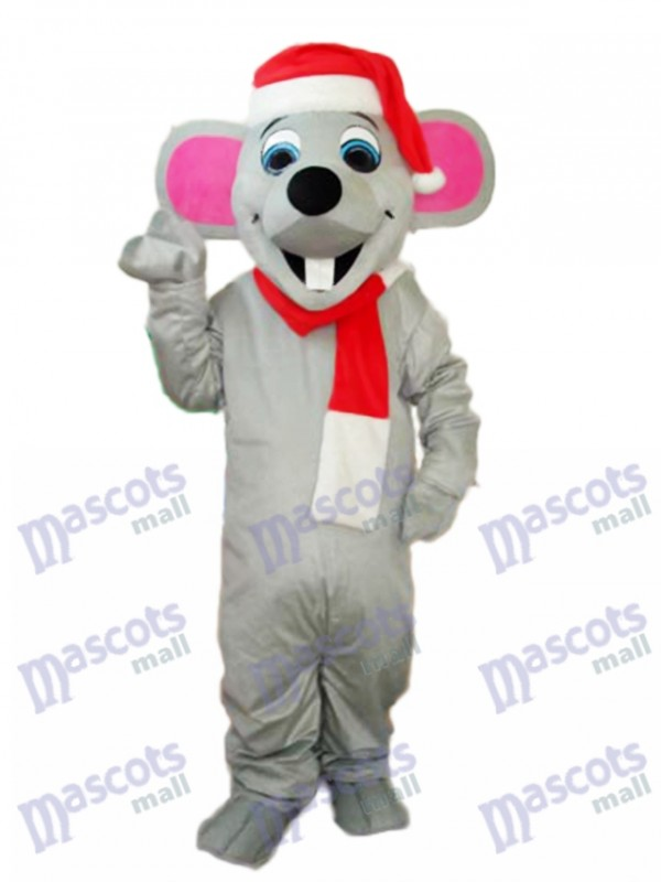 Christmas Mouse Mascot Adult Costume