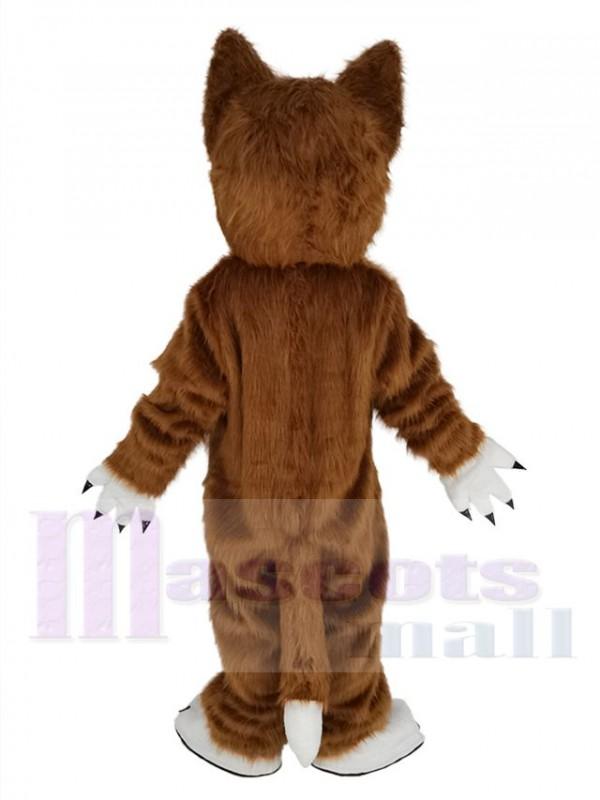Wolf mascot costume