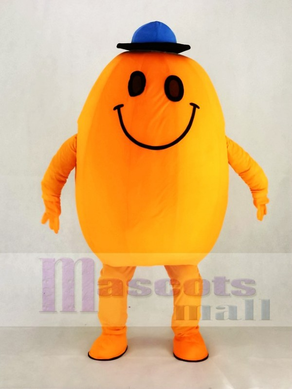 Smiling Mr Tickle Tickleer Mascot Costume School