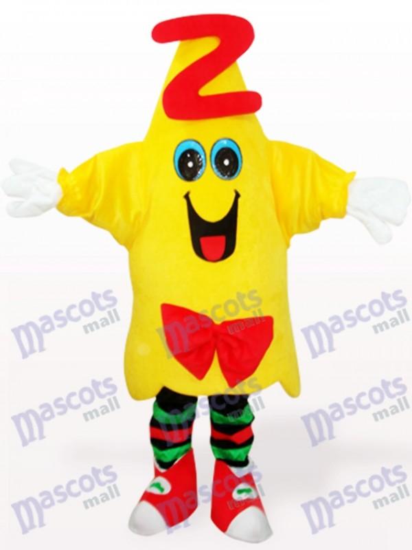 Yellow Star Doctor Animal Adult Mascot Costume