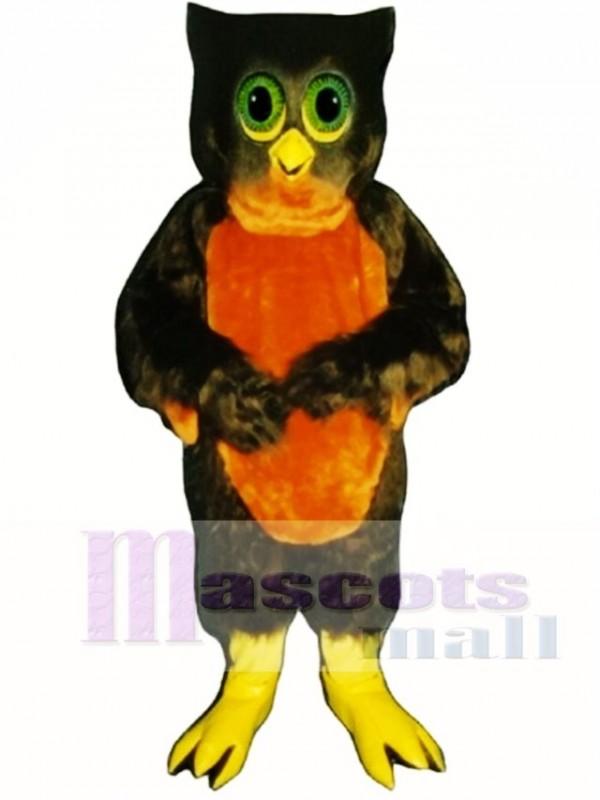 Cute Hoot Owl Mascot Costume