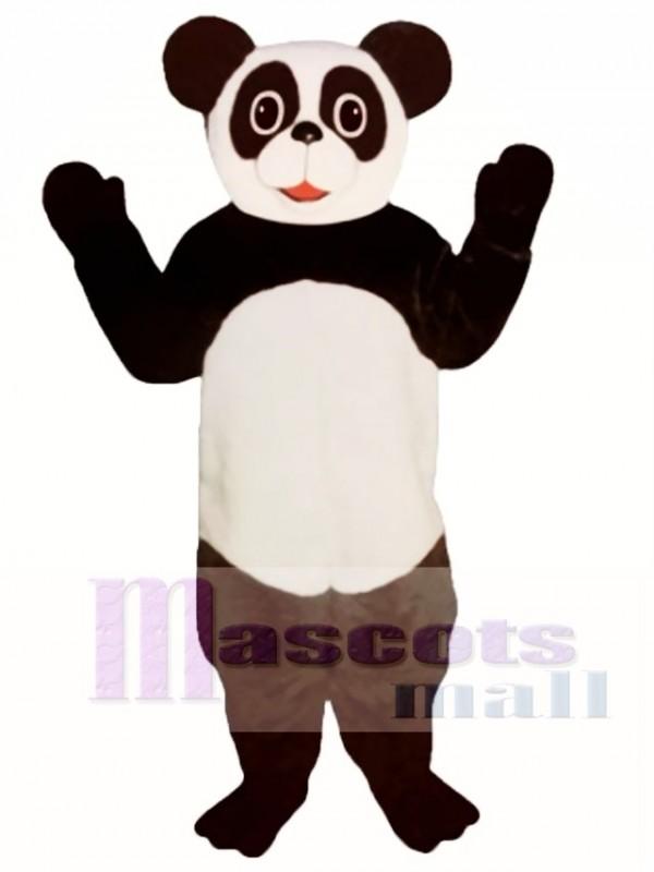 Patty Panda Mascot Costume