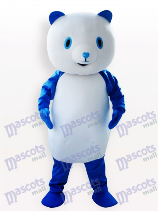 Blue Panda Animal Adult Mascot Costume