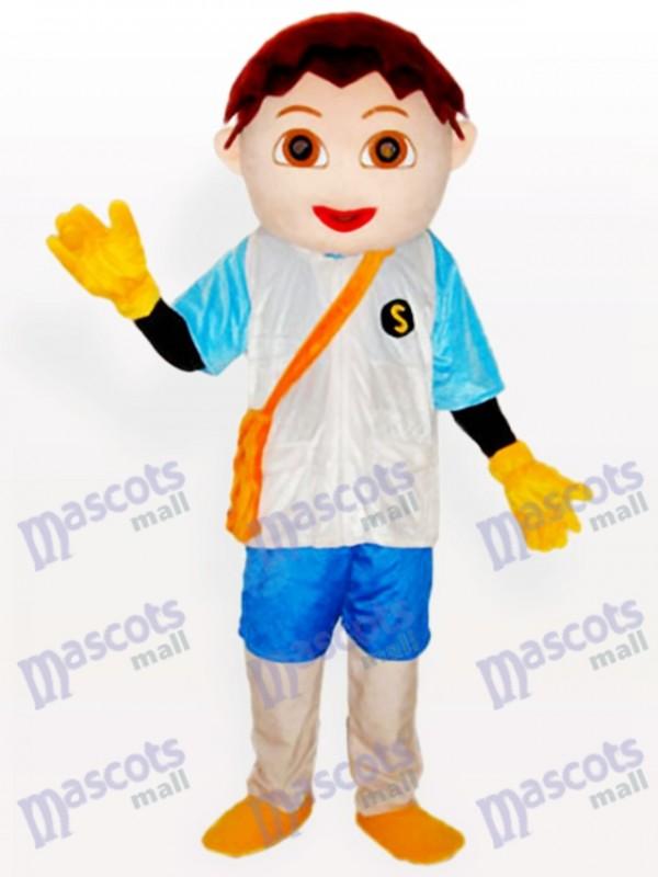 Diego Little Boy Cartoon Adult Mascot Costume