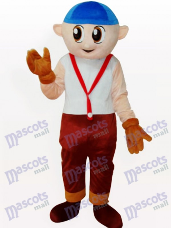 Boy Cartoon Adult Mascot Costume