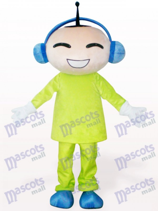 Antenna Doll Cartoon Adult Mascot Costume