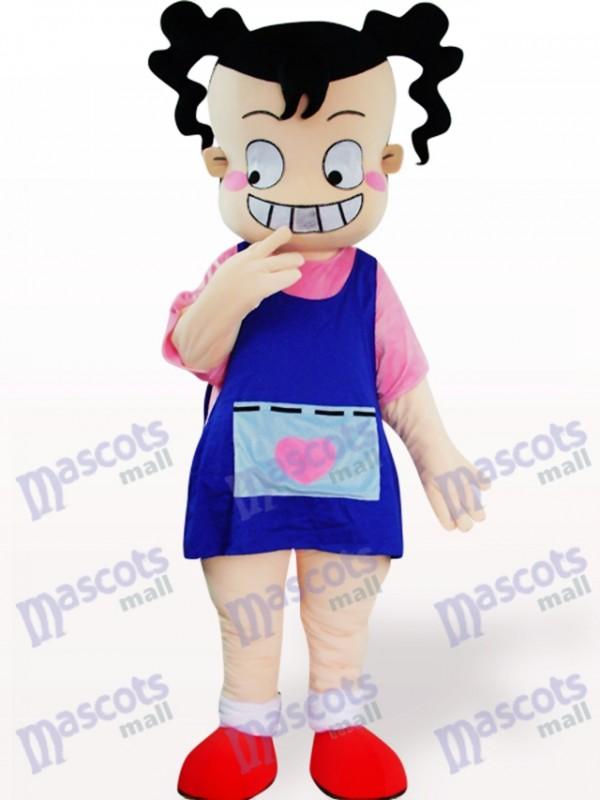 Ugly Girl Cartoon Adult Mascot Costume