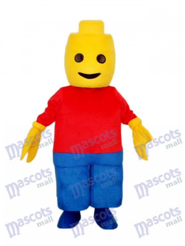 Figs Boy Mascot Adult Costume