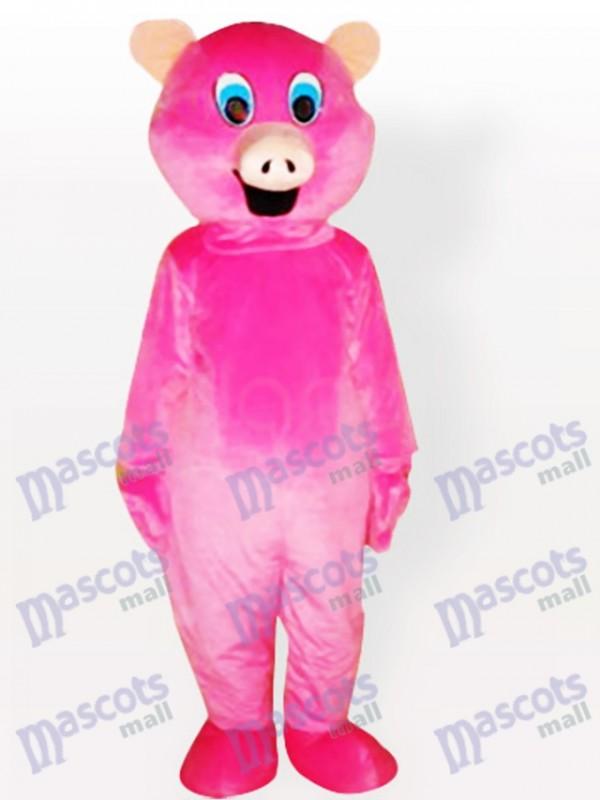 Pink Pig Adult Animal Mascot Costume