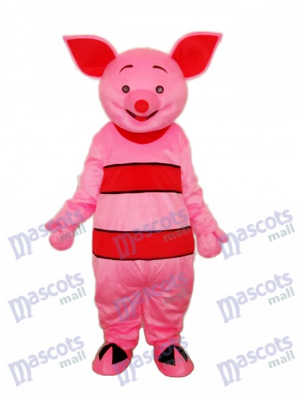 Small Pink Pig Mascot Adult Costume
