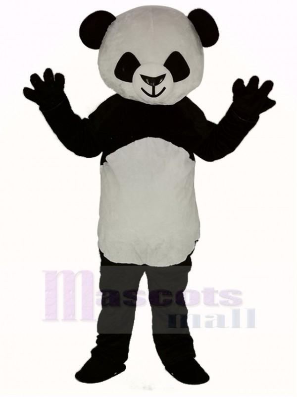 Cute Shorthair Panda Mascot Costume
