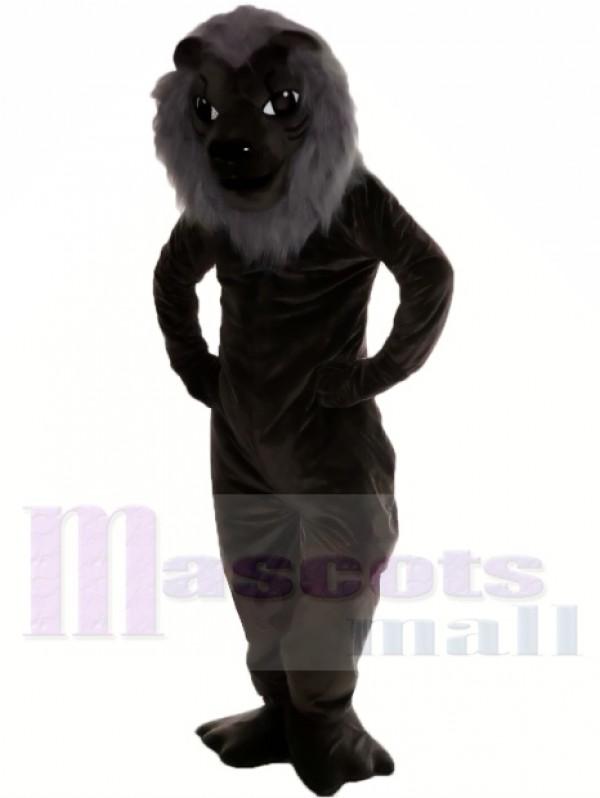 Black Lion Mascot Costume