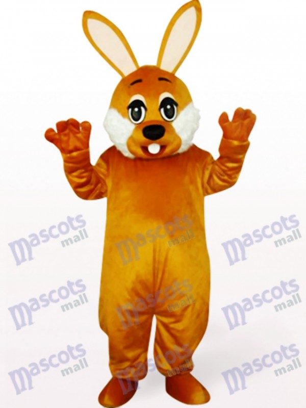 Easter Brown Bunny Animal Mascot Costume