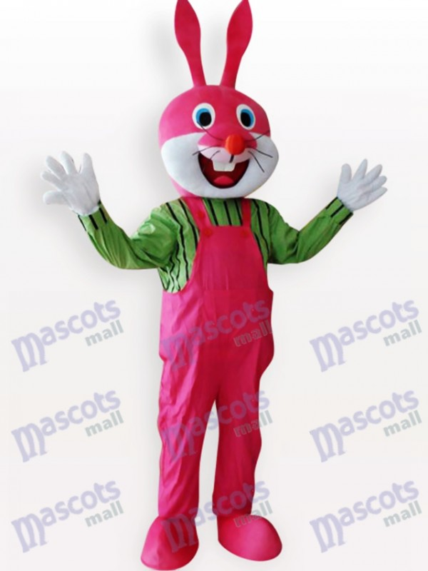 Easter Rabbit Animal Adult Mascot Costume